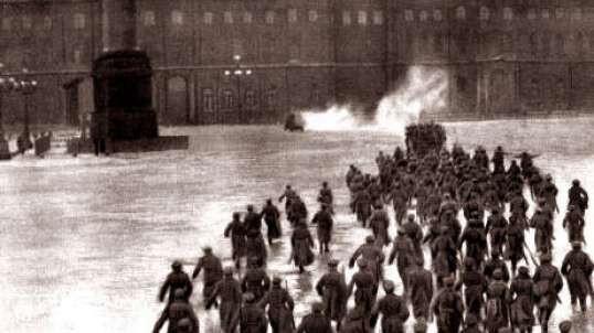 Штурм Зимнего Дворца. 1920 Худ.фильм