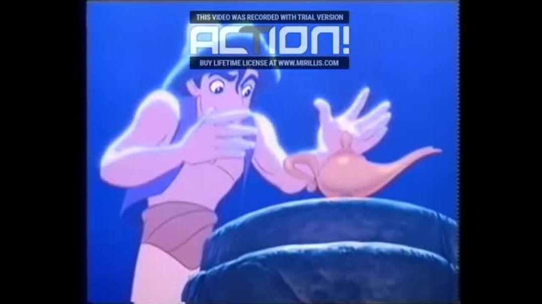 Aladdin (1994) VHSRIPPEN (Finska) Trailer (4K)